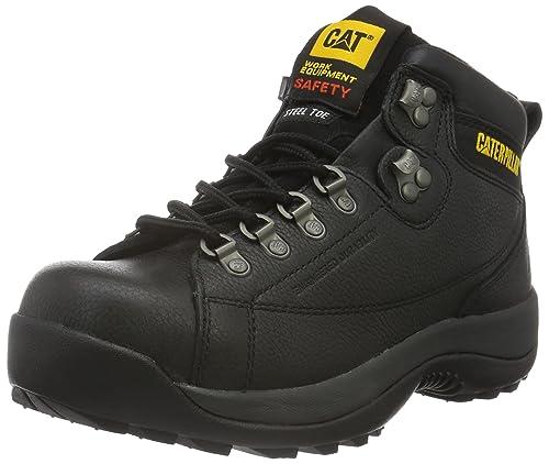 CaterpillarHydraulic St S3 - Botas de Seguridad de caño bajo Hombre, Negro (Negro)