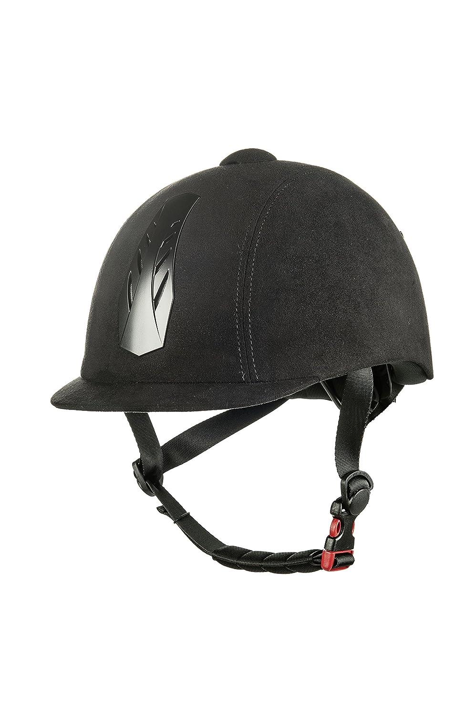 HKM casque d'équitation -new air stripe- avec molette de réglage