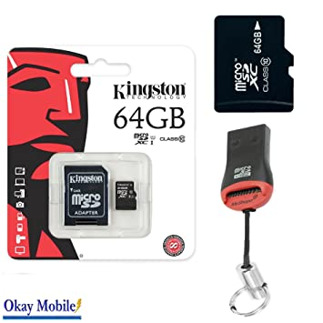 Original Kingston MicroSD SDHC Tarjeta de memoria 64 GB ...
