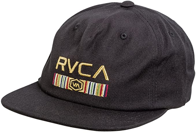 44dc4a58 Amazon.com: New Rvca Men's Legacy Snapback Hat Wool Acrylic Black: Clothing