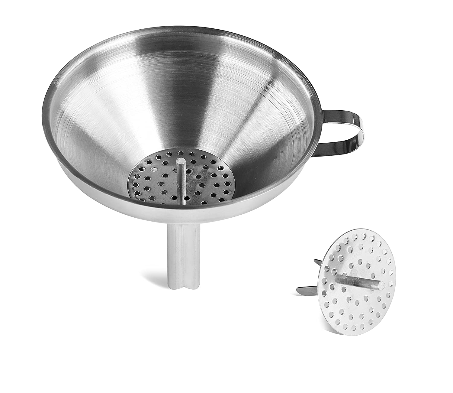 Amazon.com: New Star Foodservice 42641 Stainless Steel Funnel with ...