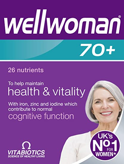 Vitabiotics | Wellwoman 70+ Tablets | 1 x 30s
