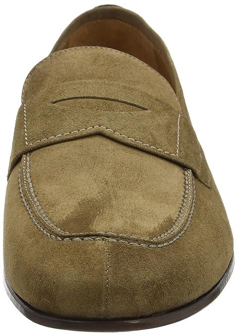 Hackett Glove Loafer Suede, Mocasines para Hombre, Marrón (Brown Taupe), 43 EU: Amazon.es: Zapatos y complementos