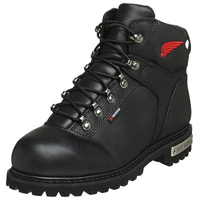 Amazon.com: Red Wing Motorcycle Men's 971 Steel Toe Waterproof ...
