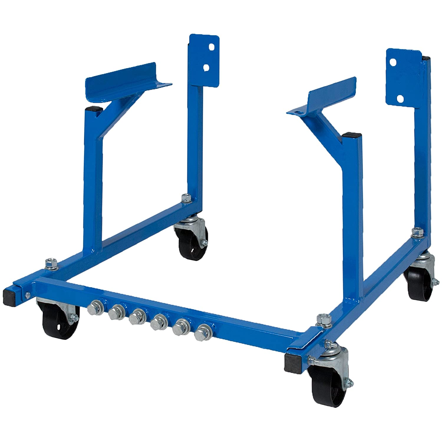 Best Choice Products 1000lb Steel Automobile Vehicle Engine Cradle Stand Dolly Mover for Repair, Rebuild w/Wheels