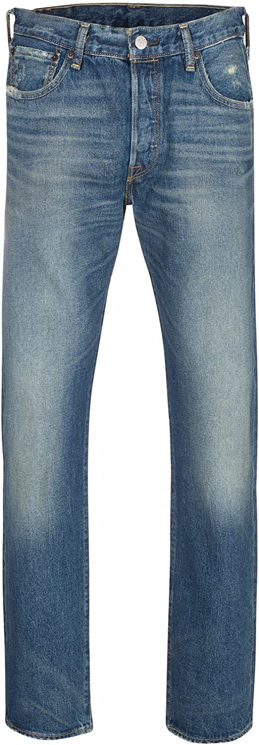 Levi's Men's 501 Original Fit-Straight Jeans (Pack of 8) Blue Rough Morning