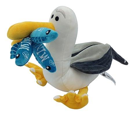 amazon com disney finding nemo mine seagull plush toys games