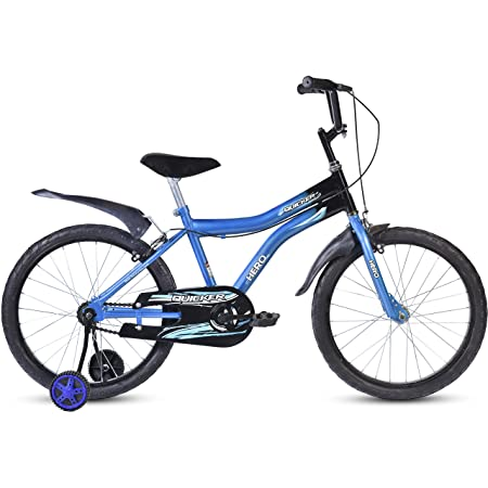 Hero Quicker 20T Steel Single Speed Junior Cycle, 12 Inch  Blue  Kids' Cycles   Accessories