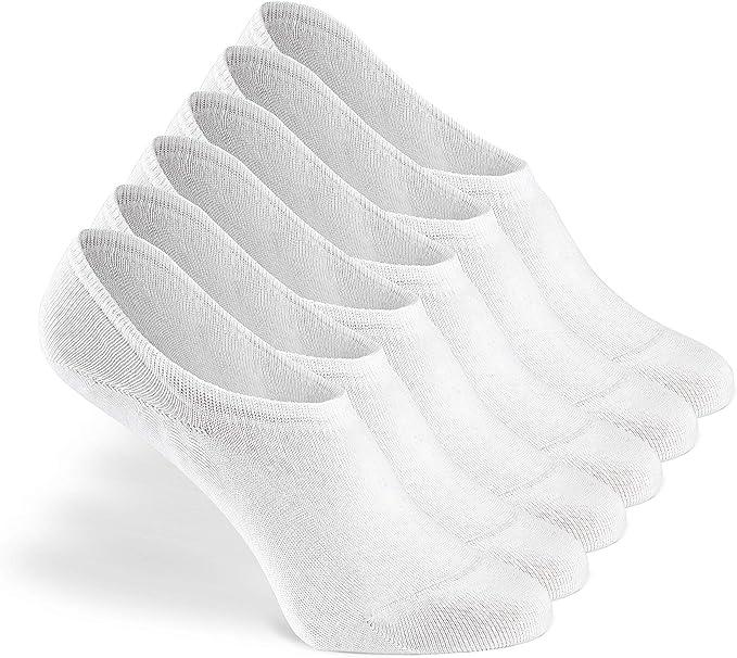 Greylags Calcetines Prima Calidad Cómodo Seamless Invisible Sneaker Calcetines | Algodón Peinado Calcetines | Hombres y mujeres | 88% Algodón | Certificado Oeko-Tex Standard 100 | Paquete de 6: Amazon.es: Ropa y accesorios