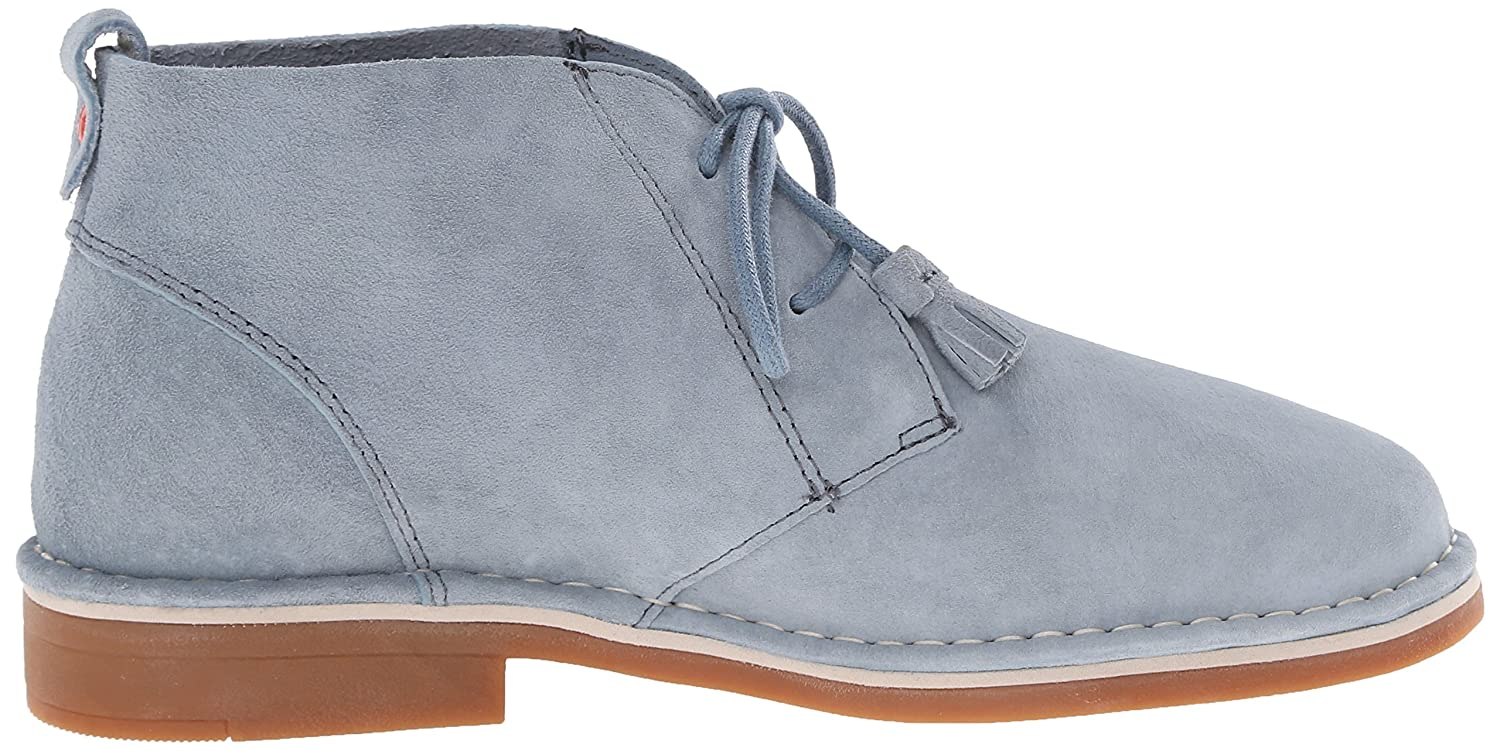 Hush Puppies Women's Cyra Catelyn Boot B010TKVFXQ 6 B(M) US|Blue Suede