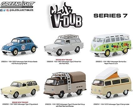 Greenlight  Vee Dub 1953 Volkswagen Split Window Beetle  #53