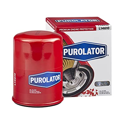Purolator L14610 Red Single Premium Engine Protection Spin On Oil Filter: Automotive