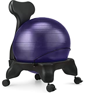 Ball Chair LuxFit Premium Fitness Exercise Ball Chairs For Home And fice 2 Year Warranty