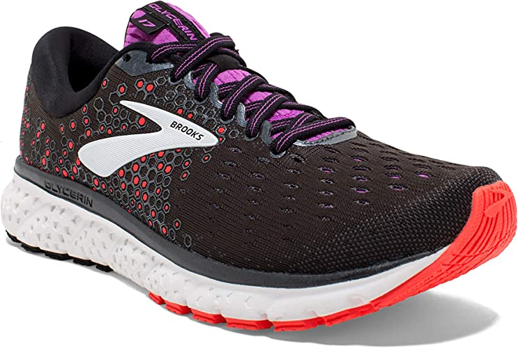 3. Brooks Women's Glycerin 17 Cushioned Road Running Shoe