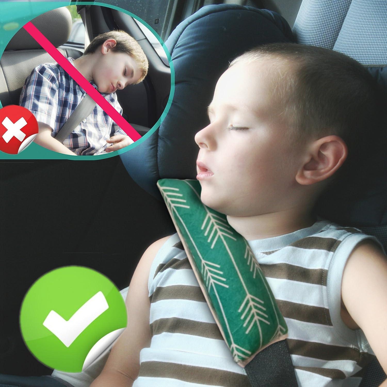Amazon.com: Sin límite niños cinturón de seguridad Almohada ...