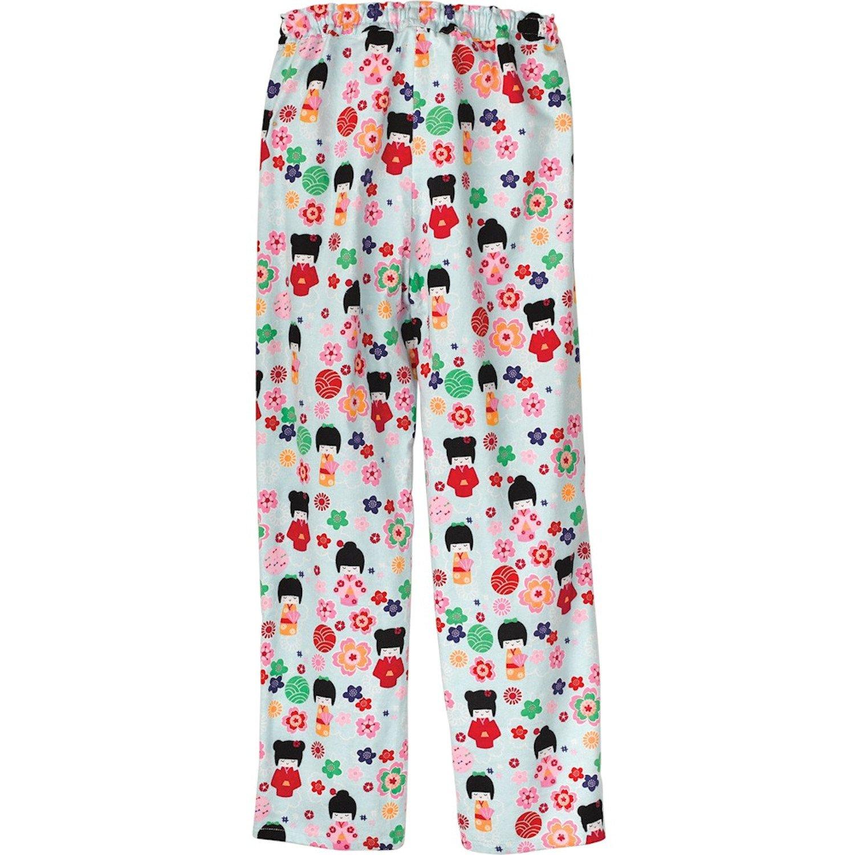 dd5145970f La Cera Women s Maiko Doll Flannel Pajamas - Cute PJs at Amazon Women s  Clothing store