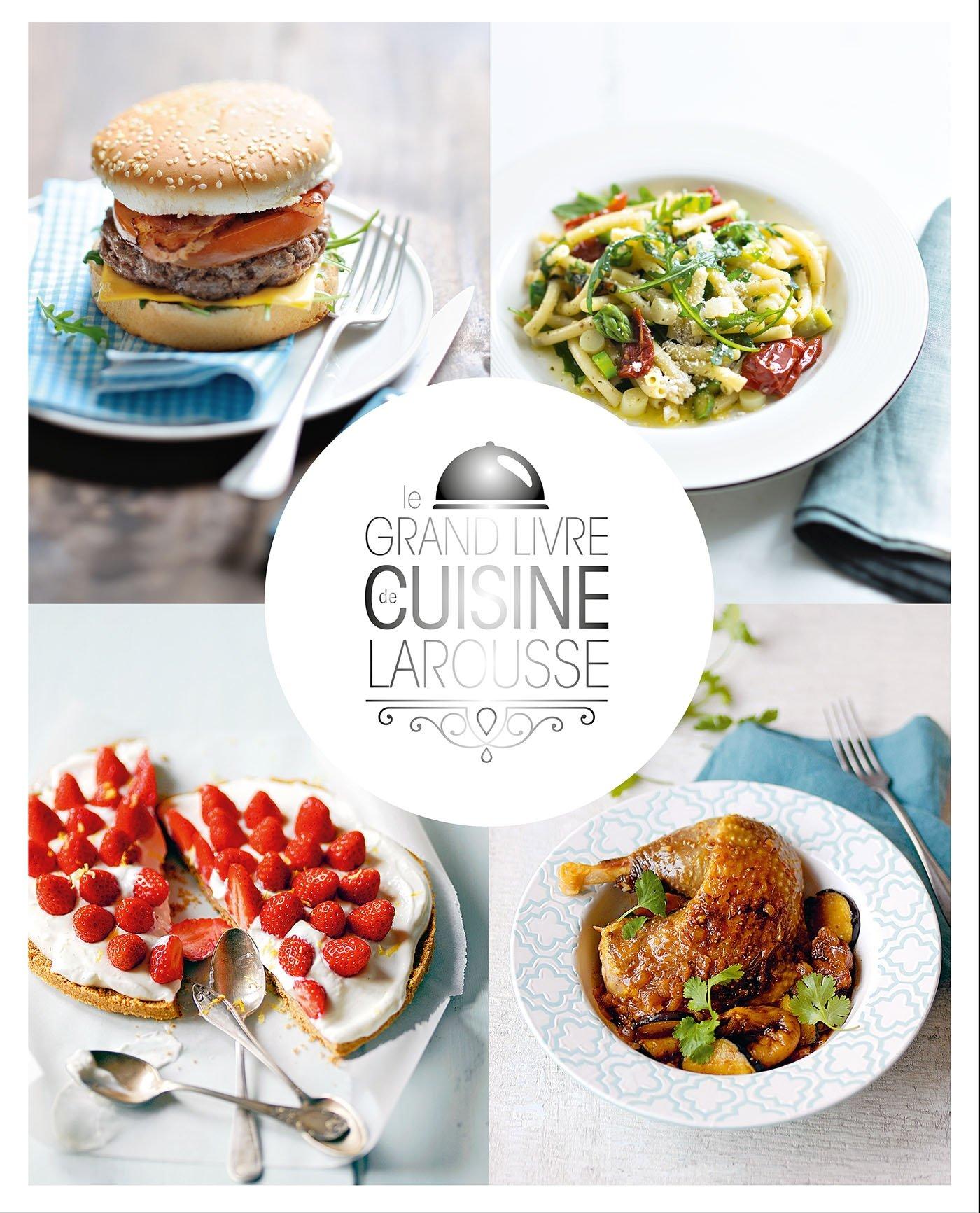 Livre Cuisine | Amazon Fr Le Grand Livre De Cuisine Larousse Camille Depraz Livres