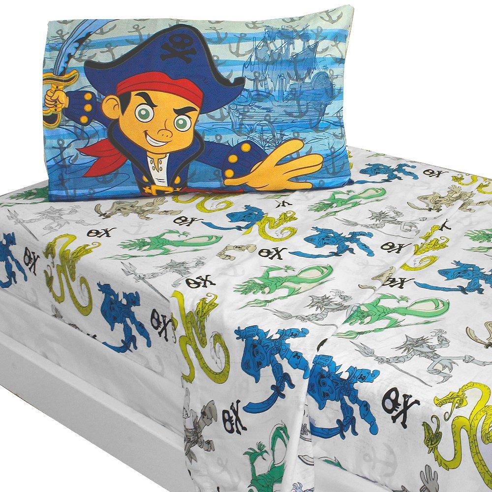 Disney Jake Captain Sheet Set, Twin
