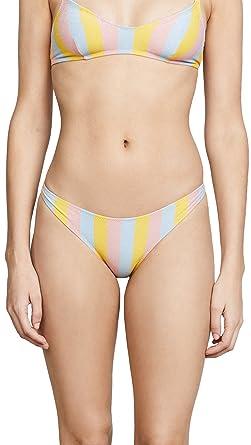 fbf5916467 Solid & Striped Women's Rachel Maui Shimmer Bikini Bottoms, Shimmer, ...