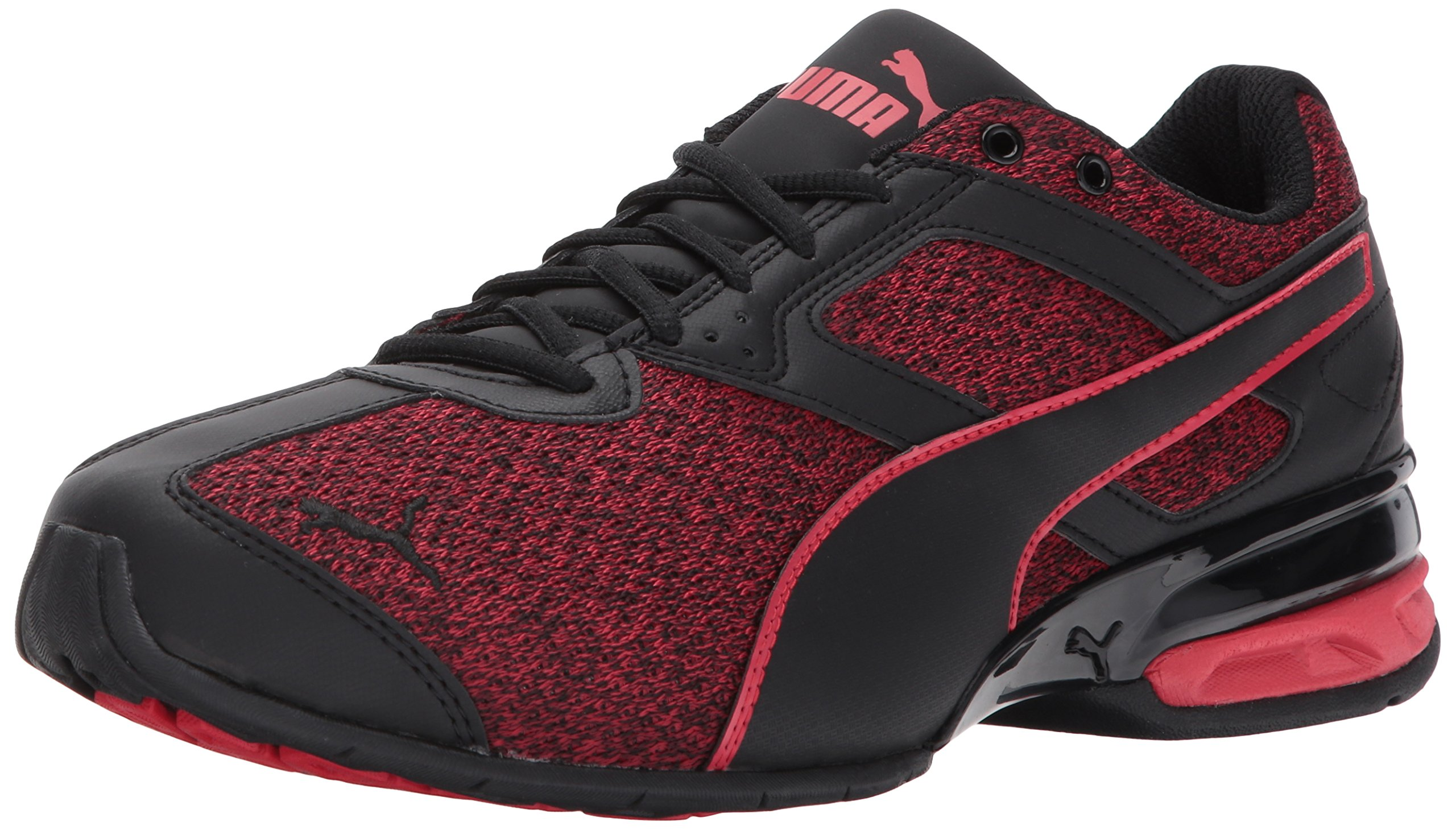 PUMA Men's Tazon 6 Knit Sneaker,puma black toreador,11 M US