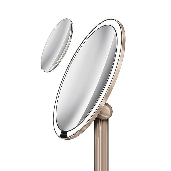 simplehuman - Sensor Espejo, Acero Inoxidable, Plata, 13 x 23 cm: Amazon.es: Hogar
