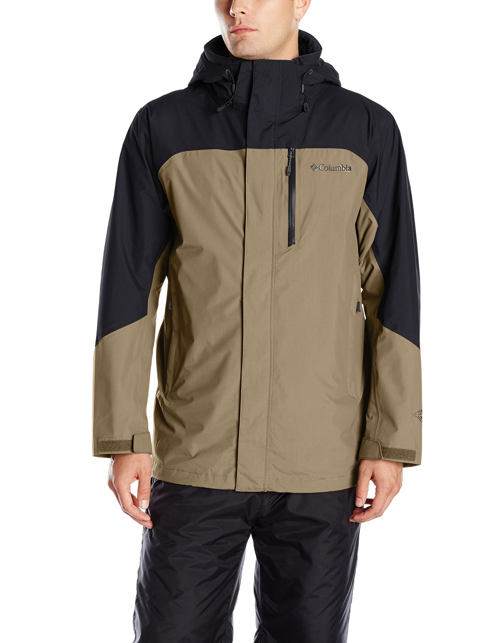 Columbia Men's Lhotse II Interchange Jacket, X-Large, Sage/Black by Columbia