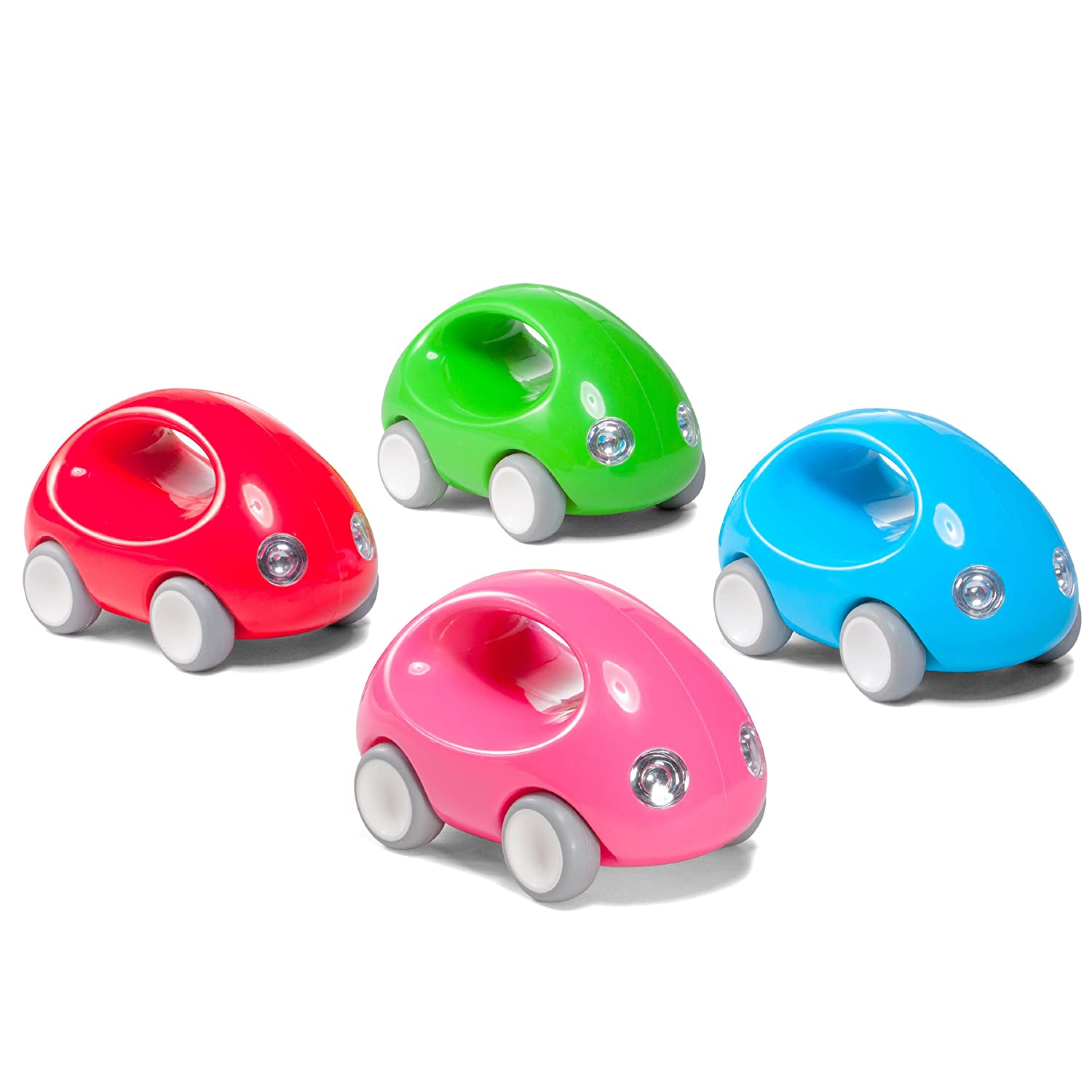 amazoncom kid o go car early learning push pull toy blue toys games