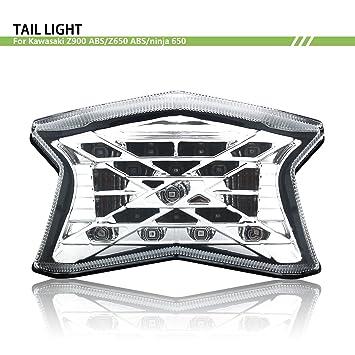 Bsk Motorcycle Z Symbol Led Taillight Turn Signal Lamp For Kawasaki