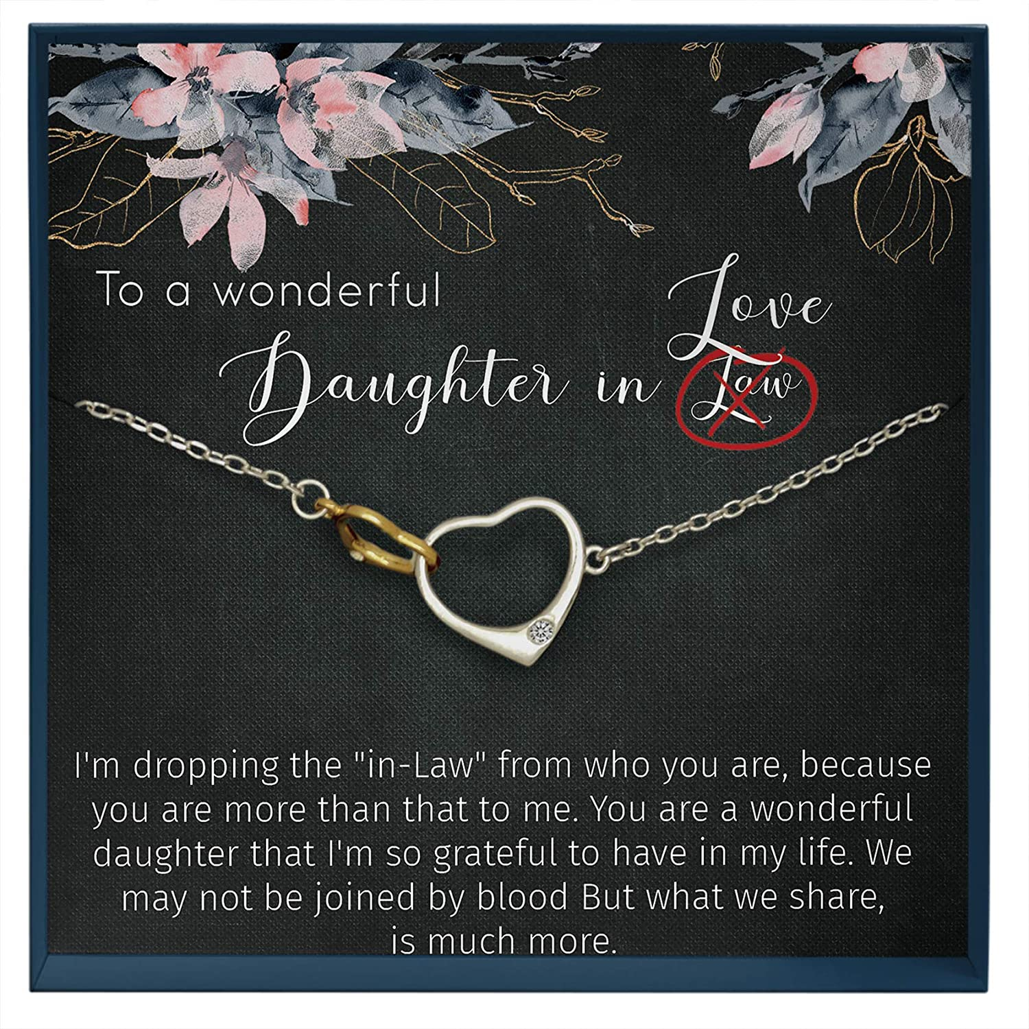 Muse Infinite Daughter Gifts from Mom Mother Daughter Necklace Gifts for Daughter Birthday Gift Idea from Mother