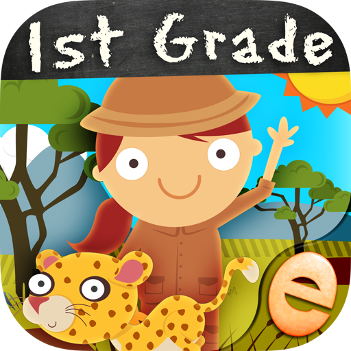 Animal Math First Grade Math Games for First Grade and Early Learners Free First Grade Games for Kids in Kindergarten 1st 2nd Grade Learning Numbers, Counting, Addition and Subtraction ()