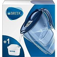 BRITA waterfilterkan Marella verbetert de smaak en vermindert kalk en andere onzuiverheden uit kraanwater, blauw, 2,4L