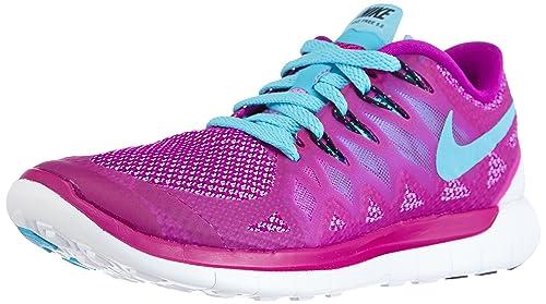 Nike Free 5.0 642199 Damen Laufschuhe, Violett (Fuchsia Flash Clrwtr Fchs  Glw 724cce7465