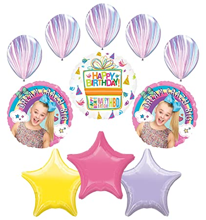 e2c51260398 Image Unavailable. Image not available for. Color  Mayflower Products JoJo  Siwa Party Supplies ...