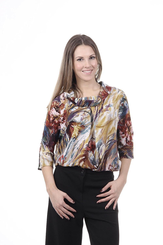 Versace 19.69 Abbigliamento Sportivo Srl Milano Italia Womens Shirt CAMICIA ESTER TESS. SILVIA FANT. 307