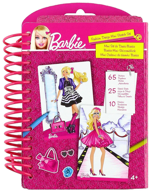 Barbie Mattel 784277 Cuaderno de diseños de moda: Amazon.es: Juguetes y juegos