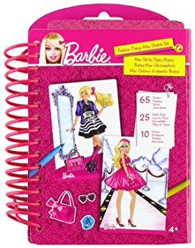 Barbie Mattel 784277 Cuaderno De Disenos De Moda Amazon Es