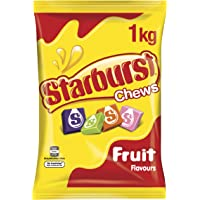 STARBURST Original Fruit Chews Lollies, 1kg Party Size Bag,  1 kg