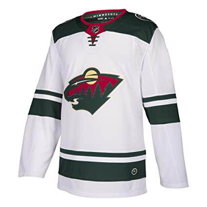 dd49d6342 Amazon.com   adidas Minnesota Wild NHL Men s Climalite Authentic ...