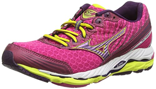 Mizuno Wave Paradox 2 (W), Women's Running Shoes, Pink (Fuschia Purple