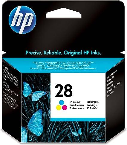 HP C8728AE - Cartucho original Nº28, color: Hp: Amazon.es: Oficina ...