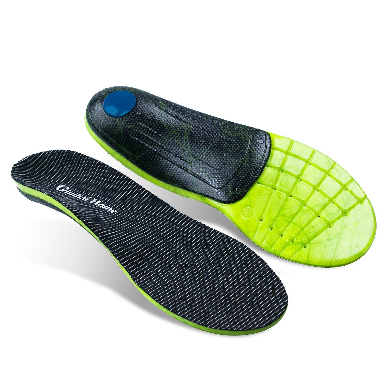 dd91da5f6c Amazon.com: Arch Support Orthotics/Orthopedic Shoes Insoles/Inserts for  Flat Feet/Plantar Fasciitis/Pronation/Feet Pain/Sports for Men and Women  (Men 5.5 ...