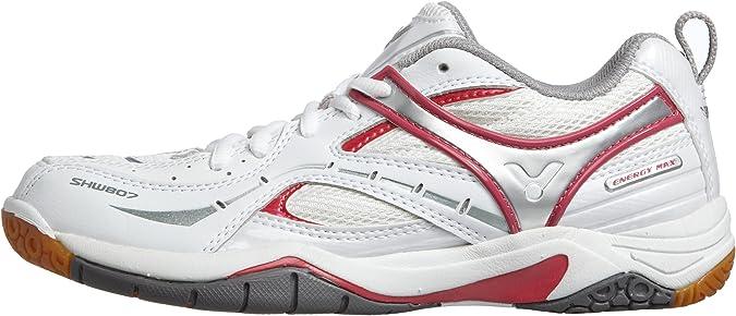 Victor SHW807LI White Pink 6.5 Badminton Shoes