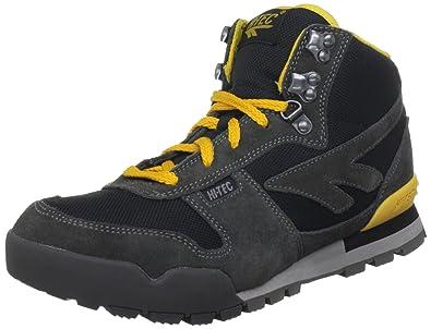 Hi-Tec Men's Sierra Lite Original Black/Charcoal/Yolk Hiking Boot O002405/