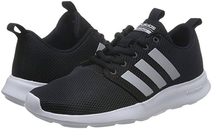 e5b3705ec4e3a Adidas AW4154 Sport Shoes Men Textile Black Silver Black Silver 10   Amazon.co.uk  Sports   Outdoors
