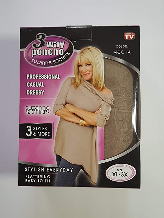 XL Suzanne Somers as Seen on TV Can Be Worn Three Ways 3X