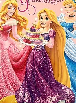 Disney 419022 Carte D Anniversaire Princesse Pour Petite