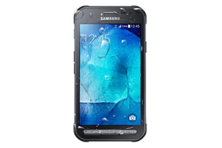 Samsung Galaxy Xcover 3 Handy 11 4 Cm Dunkelsilber Amazon De