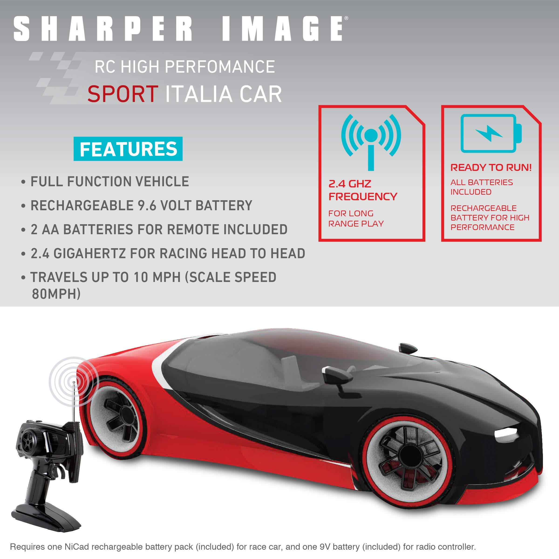 Sharper Image Toy Rc Italia Sports Car 116 Scale Bugatti Chiron