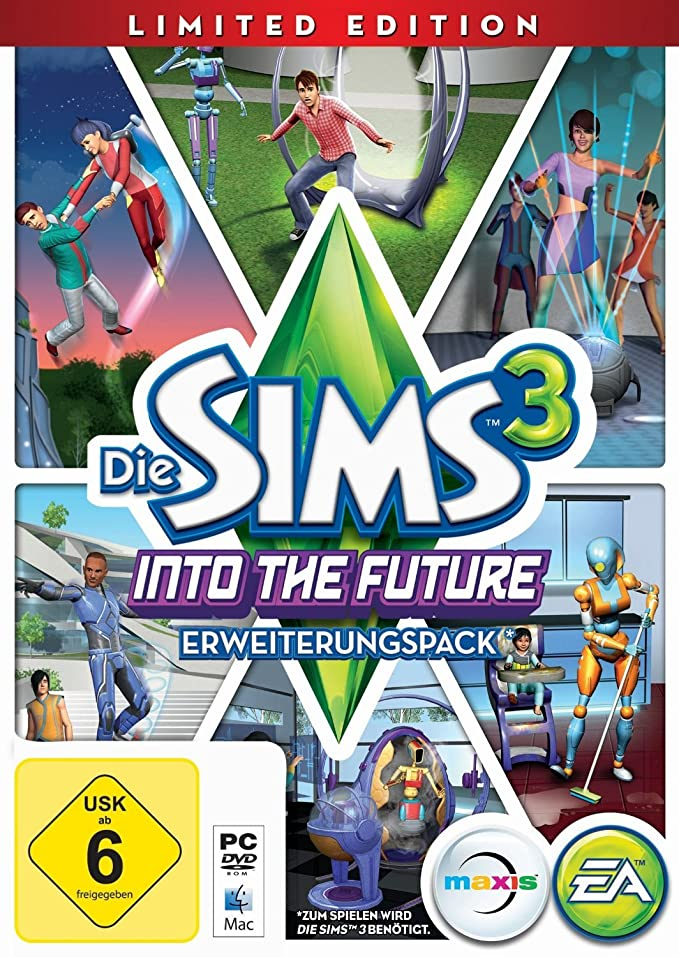 Die Sims 3: Into The Future - Limited Edition (Add-On) [Importación Alemana]