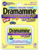 Dramamine Motion Sickness Relief for Kids 8 Ct (1 Pack)